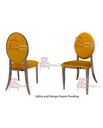 Tiffany Chair (Rose Gold-Yellow)