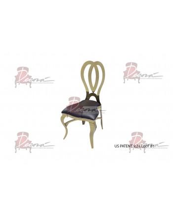 Halexandria Chair (Gold-Black)