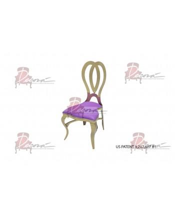 Halexandria Chair (Gold-Purple)