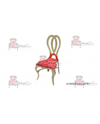 Halexandria Chair (Gold-Red)