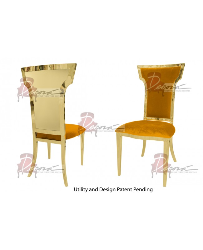 Reflection Chair Wings (Gold-Yellow)