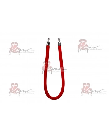 Stanchion Red Rope