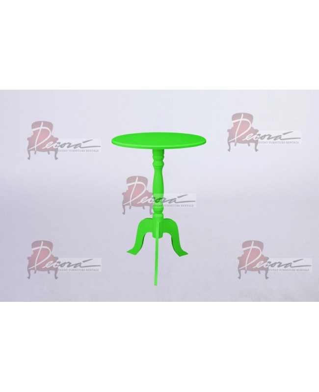 Contemporary End Table (Green)