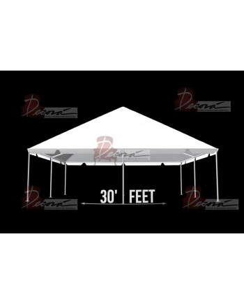 """Tent 30""""x 30"""" (Clear)"""