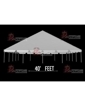 "Tent 40""x 80"""