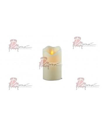 Pillar Candle (Medium),Moving Flame Effect