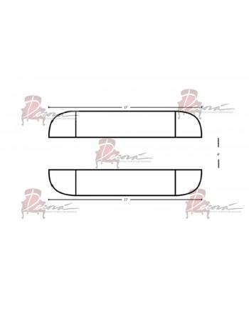 Modular Bar 17' x 8'