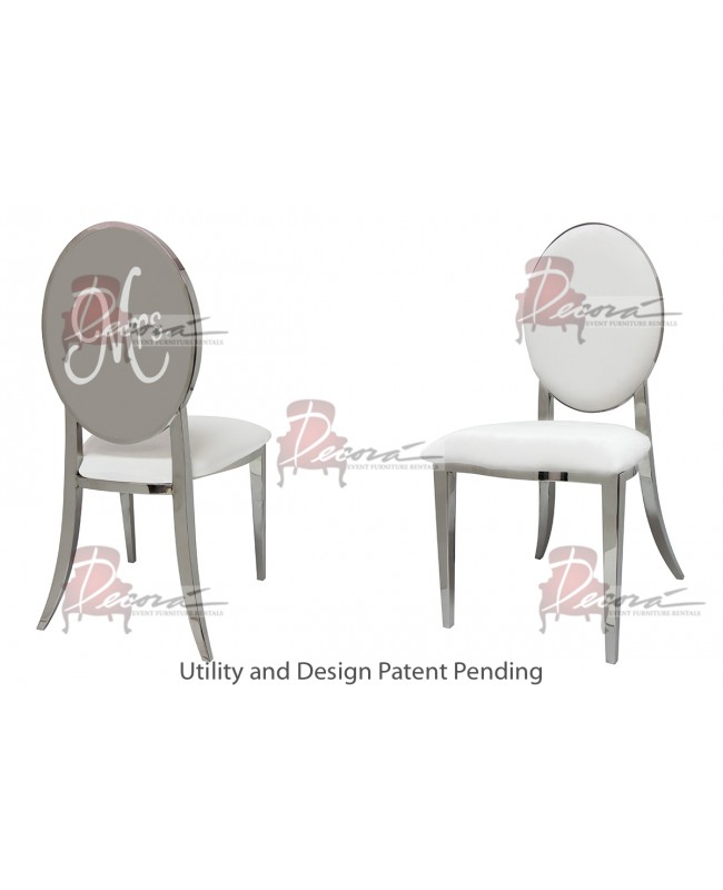 Mrs. Chair (Silver-White)