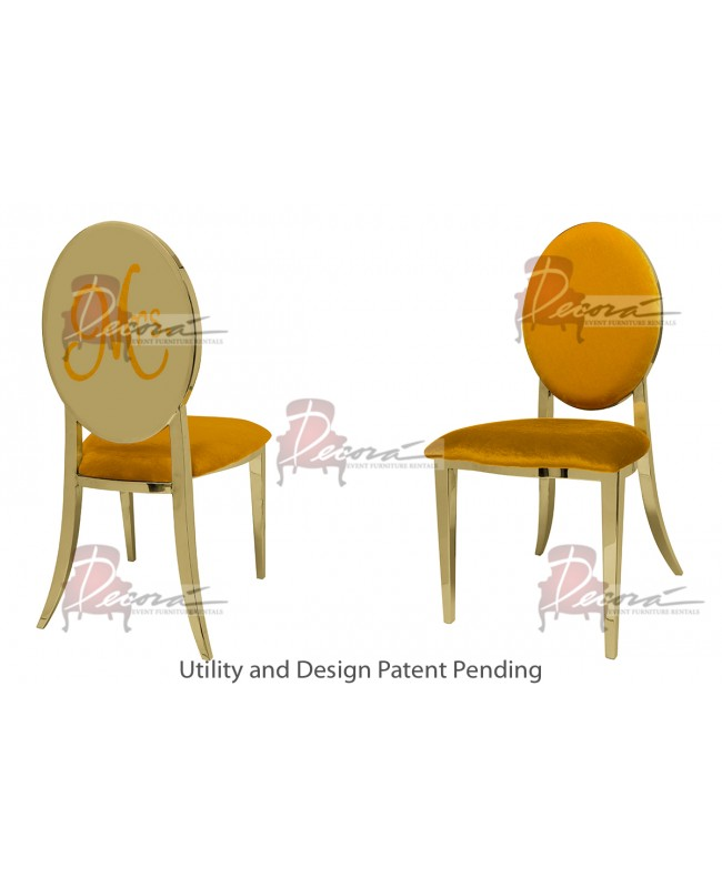 Mrs. Chair (Gold-Yellow)