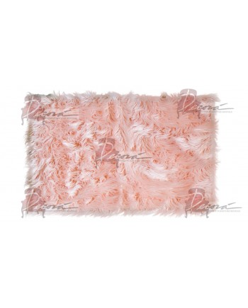 Faux Fur Carpet (Pink)