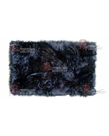 Faux Fur Carpet (Black)