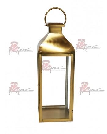 Melrose Lantern (Medium)(Gold)