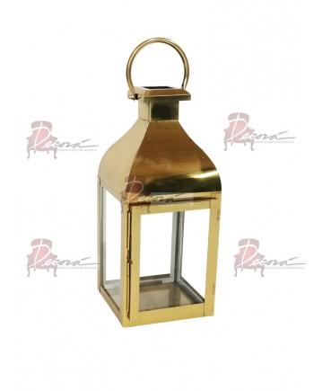 Melrose Lantern (Small) (Gold)