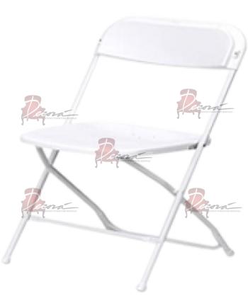 Kid Samsonite Folding Chair (White)