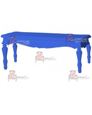 "Baroque Table 18""x48""x30""H (King)(Royal Blue)"