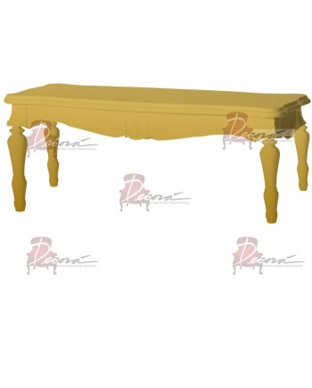 "Baroque Table 18""x48""x30""H (King)(Gold)"