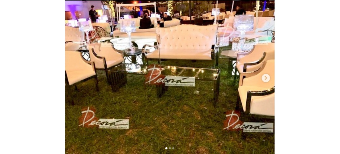 Stainless Steel Furniture Rental