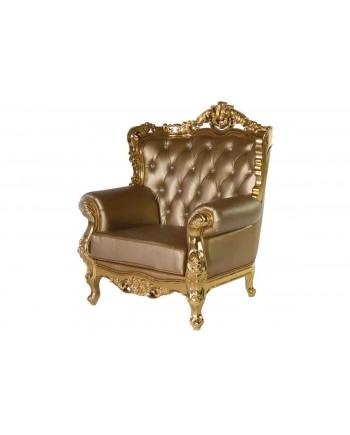 Empress ArmChair (Gold)