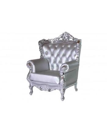 Empress ArmChair (Silver)