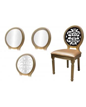 Louis XV Chair (Gold)