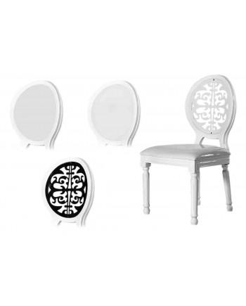 Louis XV Chair (White)