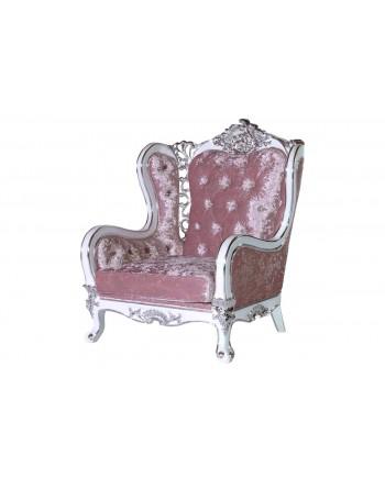 Monarch ArmChair  (Light Pink)