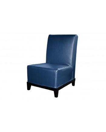 Contemporary Chair (Armless) (Blue)