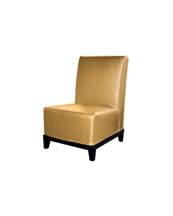 Contemporary Chair (Armless) (Gold)
