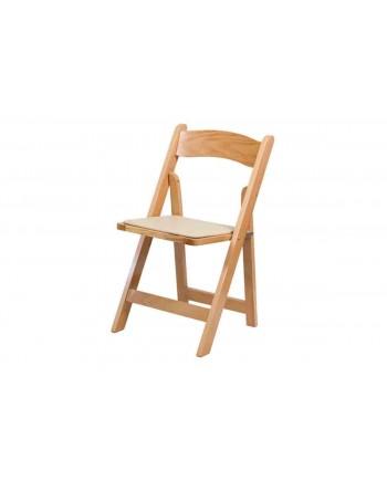 Resin Folding Chair (Natural)