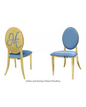 Mr. Chair (Gold-Blue)