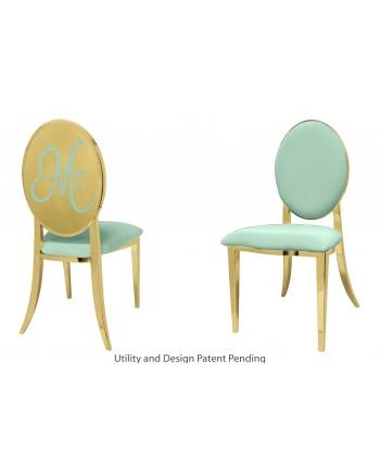 Mr. Chair (Gold-Mint)
