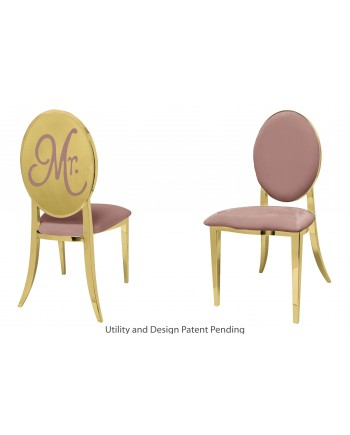 Mr. Chair (Gold-Rose Gold)