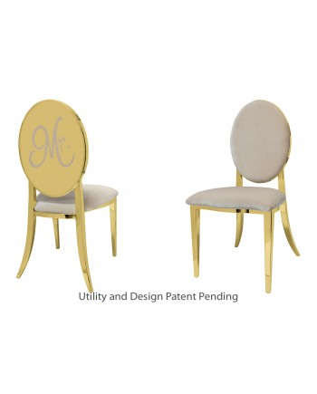 Mr. Chair (Gold-Champagne)