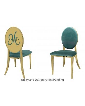 Mr. Chair (Gold-Tiffany)