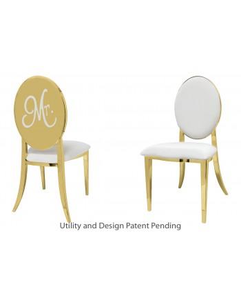Mr. Chair (Gold-White)