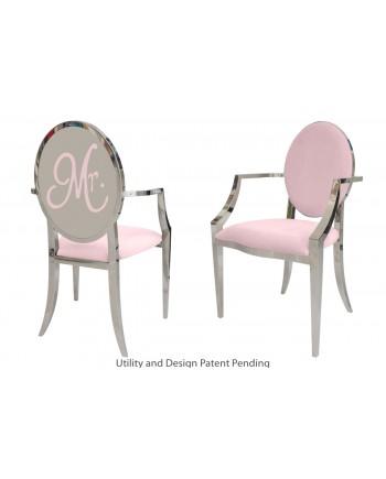 Mr. Armchair (Silver-Pink)
