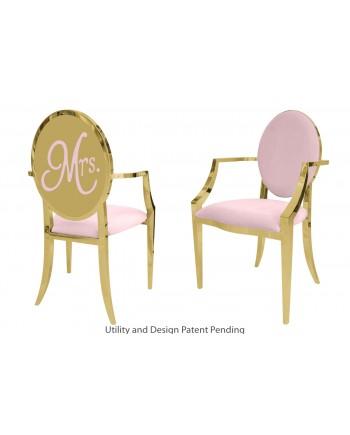 Mrs. Armchair (Gold-Pink)