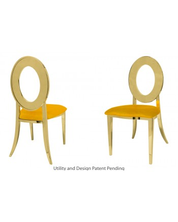 Oz Chair (Gold-Yellow)