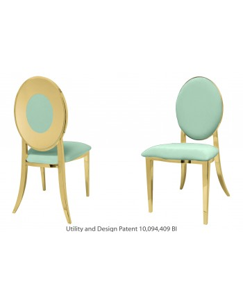 Oz Plus Chair (Gold-Mint)