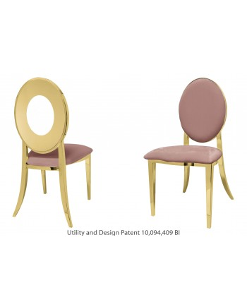 Oz Chair (Gold-Rose Gold)