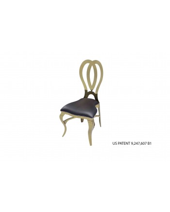 Halexandria Chair (Gold-Black)