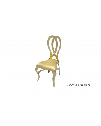 Halexandria Chair (Gold-Gold)