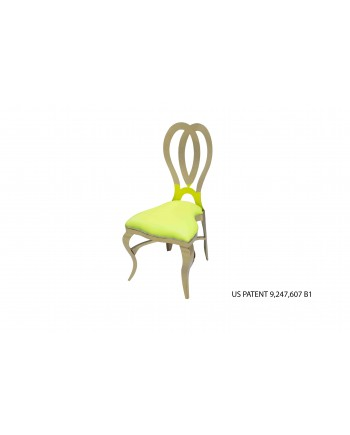Halexandria Chair (Gold-L.Green)
