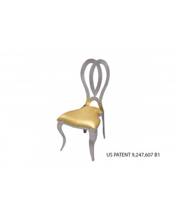 Halexandria Chair (Silver-Gold)