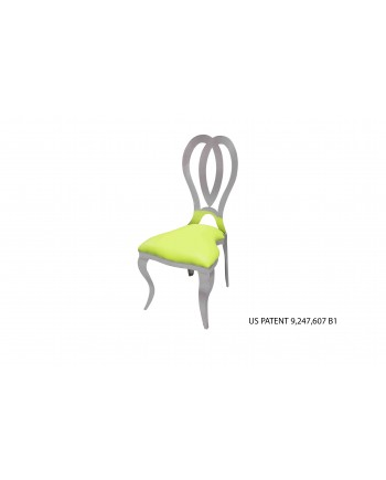 Halexandria Chair (Silver-L.Green)