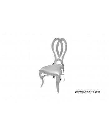 Halexandria Chair (Silver-Silver)