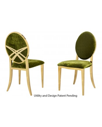 Lasso Chair (Gold-Moss)