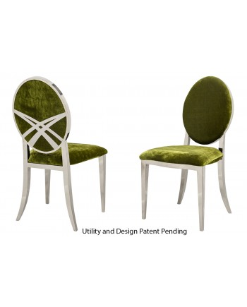 Lasso Chair (Silver-Moss)