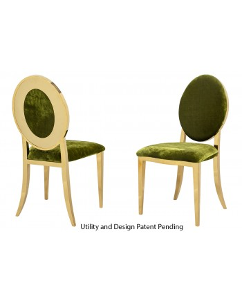 Oz Plus Chair (Gold-Moss)
