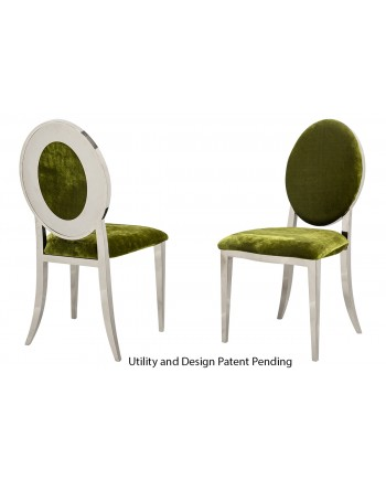 Oz Plus Chair (Silver-Moss)